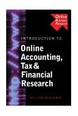 Introduction to Online Accounting and Financial Research 2004 9780324203141 Front Cover