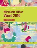 Microsoft� Word 2010 Complete 2010 9780538747141 Front Cover