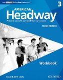 American Headway Third Edition: Level 3 Workbook With IChecker Pack 3rd 2016 9780194726146 Front Cover