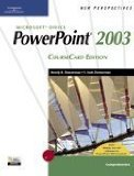 New Perspectives on Microsoft PowerPoint 2003, Comprehensive, Coursecard Edition 1st 2005 9781418839147 Front Cover