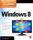 How to Do Everything - Windows 8 2013 9780071805148 Front Cover