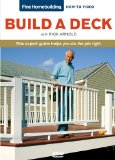 Fine Homebuilding How to Video Series Decks 2011 9781600854149 Front Cover
