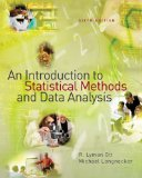 Introduction to Statistical Methods and Data Analysis 6th 2010 9780495109150 Front Cover