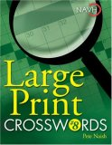 Large Print Crosswords #8 2007 9781402744150 Front Cover