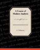 Course of Modern Analysis 2009 9781438528151 Front Cover