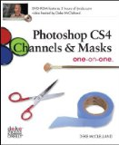Photoshop CS4 Channels and Masks 2009 9780596516154 Front Cover