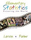 Elementary Statistics Picturing the World 3rd 2005 Revised  9780131483163 Front Cover