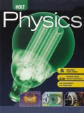 Holt Physics Student Edition 2009 2009 9780030368165 Front Cover