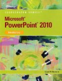 Microsoft� Office Powerpoint� 2010, Introductory 2010 9780538747165 Front Cover