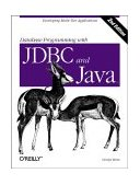Database Programming with JDBC and Java Developing Multi-Tier Applications 2nd 2000 9781565926165 Front Cover