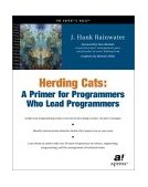 Herding Cats A Primer for Programmers Who Lead Programmers 2002 9781590590171 Front Cover