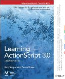 Learning ActionScript 3. 0 A Beginner's Guide 2nd 2010 9781449390174 Front Cover