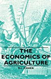 The Economics of Agriculture: 2008 9781443740180 Front Cover