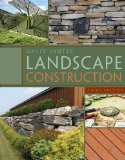 Landscape Construction 3rd 2010 9781435497184 Front Cover