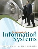Fundamentals of Information Systems 6th 2011 9780840062185 Front Cover