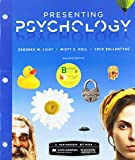 Loose-Leaf Version for Scientific American: Presenting Psychology and LaunchPad for Scientific American: Presenting Psychology (Six-Months Access) 2nd 2019 9781319251185 Front Cover