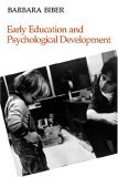 Early Education and Psychological Development 1987 9780300039191 Front Cover