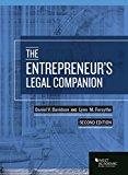 Entrepreneur's Legal Companion 2nd 2017 9781683284192 Front Cover