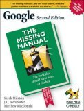 Google 2nd 2006 Revised  9780596100193 Front Cover