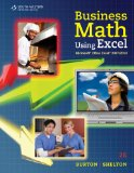Business Math Using Excel� 2nd 2011 9780538731195 Front Cover
