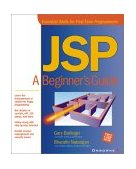 JSP A Beginner's Guide 2001 9780072133196 Front Cover