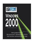 Implementing a Microsoft Windows 2000 Network Infrastructure 2001 9780595148196 Front Cover