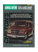 Chevrolet Vans, 1987-97 1998 9780801988196 Front Cover