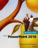 Microsoft� Powerpoint� 2010, Introductory 1st 2010 9780538475198 Front Cover