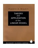 Theory and Application of the Linear Model 2000 9780534380199 Front Cover