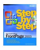 Microsoft Office FrontPage 2003 Step by Step 2003 9780735615199 Front Cover