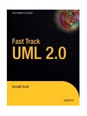 Fast Track UML 2.0 2004 9781590593202 Front Cover