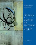 Essentials of Statistics for the Behavioral Sciences 7th 2010 9780495812203 Front Cover