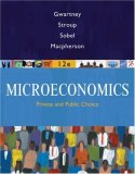 Microeconomics Private and Public Choice 12th 2008 9780324580204 Front Cover