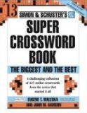 Super Crossword Book The Biggest and the Best 2006 9780743293211 Front Cover