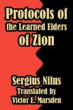 Protocols of the Learned Elders of Zion 2003 9781414700212 Front Cover