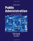 Public Administration : an Action Orientation, (with CourseReader 0-30: Public Administration Printed Access Card)