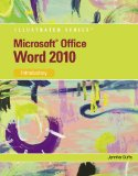 Microsoft Office Word 2010 Introductory 1st 2010 9780538748216 Front Cover