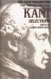 Kant Selections 1st 1988 9780023078217 Front Cover