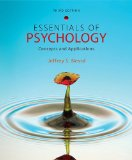Essentials of Psychology Concepts and Applications 3rd 2011 9781111301217 Front Cover