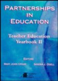 Partnerships in Education Teacher Education Yearbook II 1994 9780155012219 Front Cover