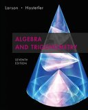 Algebra and Trigonometry Text 7th 2006 9780618643219 Front Cover