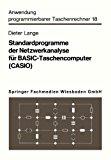 Standardprogramme der Netzwerkanalyse F�r Basic-Taschencomputer 1982 9783528042219 Front Cover