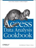 Access Data Analysis Cookbook 2007 9780596101220 Front Cover