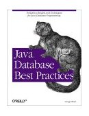 Java Database Best Practices 2003 9780596005221 Front Cover