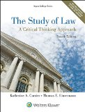 Study of Law: A Critical Thinking Approach cover art