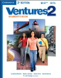 VENTURES LEVEL 2 STUDENT'S BOOK WITH AUDIO CD 2ND EDITION 2nd 2013 Revised 9781107687226 Front Cover