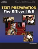 Exam Preparation Fire Officer I and II 1st 2005 9781401899226 Front Cover