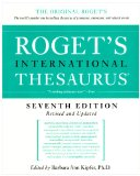 Roget's International Thesaurus, 7th Edition  cover art