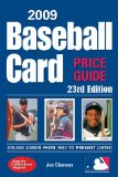 2009 Baseball Card Price Guide 23rd 2009 9780896897229 Front Cover