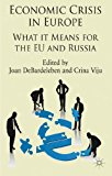 Economic Crisis in Europe What It Means for the EU and Russia 2013 9781137005229 Front Cover
